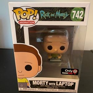 Morty With Laptop Funko Pop